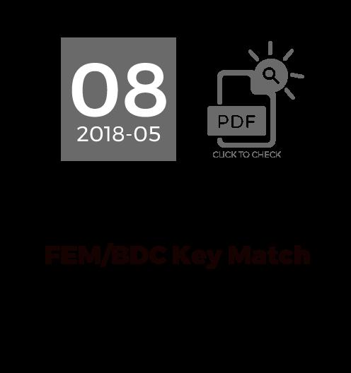 FEM/BDC Key Match
