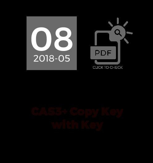CAS3+ Copy Key With Key