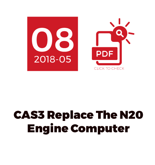 CAS3 Replace The N20 Engine Computer