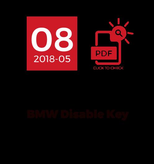 BMW Disable Key